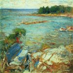Abram Efimovich Arkhipov (1862–1930)  North Sea  Oil on canvas, 1900-e  71 x 90 cm  Tula Regional Art Museum, Tula Region, Russia