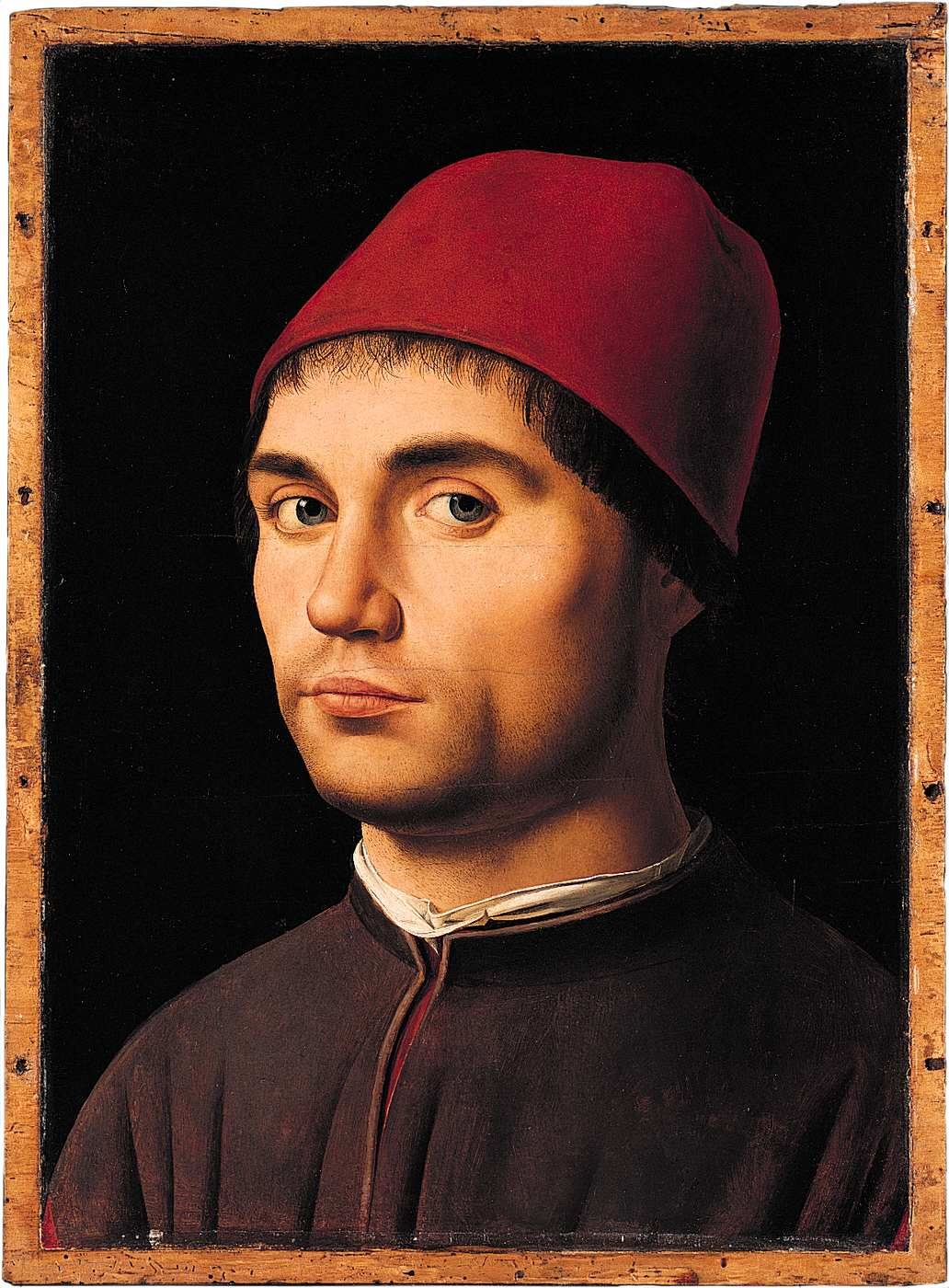 Exceptionnel Portrait of a Man - Antonello da Messina - Gallery - Web gallery  NW96