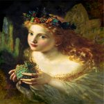 Sophie Gengembre Anderson (1823-1903)  Take the Fair Face of Woman  Oil on canvas, unknown  Private collection