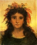 Sophie Gengembre Anderson (1823-1903)  Autumn  Oil On Canvas  30.5 x 25.5 cm (12.01