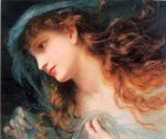 Sophie Gengembre Anderson (1823-1903)  The Head of a Nymph  Oil on canvas  Private collection