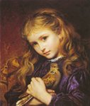 Sophie Gengembre Anderson (1823-1903)  The Turtle Dove  Oil on canvas, unknown  Private collection