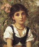Sophie Gengembre Anderson (1823-1903)  Far Away Thoughts  Oil on canvas, unknown  Private collection