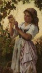 Sophie Gengembre Anderson (1823-1903)  The Last ofthe day  Oil on canvas, unknown  Private collection