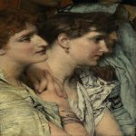 Sir Lawrence Alma-Tadema (1836-1912)  An Audience  Oil on canvas  Public collection