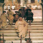 Sir Lawrence Alma-Tadema (1836-1912)  The Triumph of Titus  Oil on canvas, 1885  Private collection
