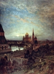 Alexey Petrovich Bogolyubov (16 March 1824 – 3 February 1896) Kind of an evening in Moscow, 1880
