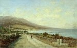 Alexey Petrovich Bogolyubov (16 March 1824 – 3 February 1896) Type of Yalta from Livadia