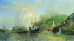 Alexey Petrovich Bogolyubov (16 March 1824 � 3 February 1896) Attack of the boat