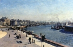 Alexey Petrovich Bogolyubov (16 March 1824 � 3 February 1896) Le Havre Oil on canvas, 1893