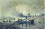 Alexey Petrovich Bogolyubov (16 March 1824 – 3 February 1896) Skrydlov. 1878 Charcoal on paper, 1878 40 x 58 cm Central Naval Museum, St. Petersburg, Russia