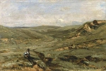 Alexey Petrovich Bogolyubov (16 March 1824 – 3 February 1896) Mechka valley. Bulgaria Oil on canvas, 1881