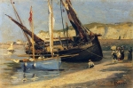 Alexey Petrovich Bogolyubov (16 March 1824 – 3 February 1896) Dieppe Oil on canvas, 1882