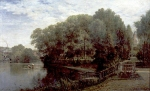 Alexey Petrovich Bogolyubov (16 March 1824 – 3 February 1896) Zhukov pond in Moscow Oil on canvas, 1880