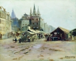 Alexey Petrovich Bogolyubov (16 March 1824  3 February 1896) Bazar Oil on canvas 33 x 41 cm Kharkiv Art Museum, Kharkiv, Ukraine
