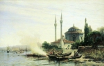 Alexey Petrovich Bogolyubov (16 March 1824 � 3 February 1896) Golden Horn in Constantinople Oil on canvas, 1864 50 x 78 cm The State Tretyakov Gallery, Moscow, Russia