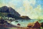 Alexey Petrovich Bogolyubov (16 March 1824 – 3 February 1896) Capri. Marina Grande Paper on canvas, oil, 1855 27 x 39.7 cm The State Russian Museum, St. Petersburg, Russia