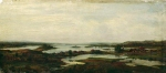 Alexey Petrovich Bogolyubov (16 March 1824 � 3 February 1896) Conch Lake Oil on canvas 24 x 53 cm National Museum of Georgia