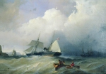 Alexey Petrovich Bogolyubov (16 March 1824 � 3 February 1896) Baltic Sea Oil on canvas, 1880 42 x 65 cm Historical and Art Museum, Vladimir region, Vyazniki, Russia