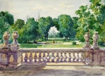 Alexey Petrovich Bogolyubov (16 March 1824 – 3 February 1896) Kiev. The palace garden Oil on canvas, 1877