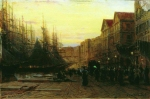 Alexey Petrovich Bogolyubov (16 March 1824  3 February 1896) Marseille port Oil on wood, 1860 19.5 x 26.9 cm Art Museum of N.H. Onatskogo, Sumy , Ukraine