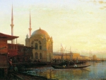 Alexey Petrovich Bogolyubov (16 March 1824 – 3 February 1896) Mosque in Istanbul Oil on canvas 58.5 x 77 cm State Museum of Arts of A. Kasteev the Republic of Kazakhstan