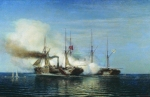 Alexey Petrovich Bogolyubov (16 March 1824 – 3 February 1896) Battleship. Capture of the frigate