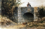 Alexey Petrovich Bogolyubov (16 March 1824 – 3 February 1896) Bridge to the Ekuan, 1882