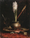 Alexey Petrovich Bogolyubov (16 March 1824 � 3 February 1896) Still Life Oil on wood, 1870