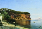 Alexey Petrovich Bogolyubov (16 March 1824 – 3 February 1896) Beach Vico Oil on canvas, 1855 46.7 x 67 cm The State Art Museum, Chuvashia, Russia