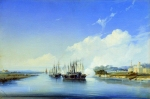 Alexey Petrovich Bogolyubov (16 March 1824 � 3 February 1896) Fire of the Steamship
