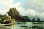 Alexey Petrovich Bogolyubov (16 March 1824 – 3 February 1896) Isle of Capri Oil on canvas, 1856 91 x 135 cm Hersonky Regional Art Museum of A.A. Shovkunenko, Ukraine