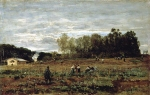 Alexey Petrovich Bogolyubov (16 March 1824 – 3 February 1896) Arable land in Ekuane Oil on canvas, 1880
