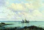 Alexey Petrovich Bogolyubov (16 March 1824 – 3 February 1896) Coastal ocean Oil on canvas 34.5 x 51.5 cm Volgograd Museum of Fine Arts, Russia