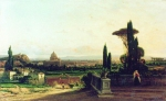 Alexey Petrovich Bogolyubov (16 March 1824 � 3 February 1896) Rome Oil on canvas, 1857 Private Collection
