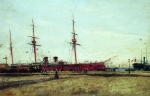 Alexey Petrovich Bogolyubov (16 March 1824 � 3 February 1896) Launch Oil on canvas