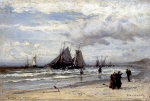 Alexey Petrovich Bogolyubov (16 March 1824  3 February 1896) Sheveningen Oil on canvas, 1885