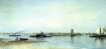 Alexey Petrovich Bogolyubov (16 March 1824 � 3 February 1896) Mouth of the Neva Oil on canvas, 1872 54.5 x 110 cm The State Tretyakov Gallery, Moscow, Russia