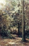 Alexey Petrovich Bogolyubov (16 March 1824 – 3 February 1896) Ekuan. Grove at noon Oil on canvas, 1880