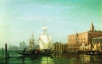Alexey Petrovich Bogolyubov (16 March 1824  3 February 1896) Venice Oil on canvas. 39 x 61 cm Tver Regional Art Gallery, Russia