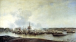 Alexey Petrovich Bogolyubov (16 March 1824 � 3 February 1896) Battle of Gangut (July 27, 1714) Oil on canvas, 1875-1877 186 x 321 cm Central Naval Museum, St. Petersburg, Russia