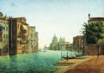 Alexey Petrovich Bogolyubov (16 March 1824 – 3 February 1896) Venice Watercolor on paper, 1872 22.3 x 31.9 cm Perm State Art Gallery, Russia