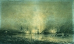 Alexey Petrovich Bogolyubov (16 March 1824 – 3 February 1896) Explosion of the Turkish Monitor