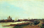 Alexey Petrovich Bogolyubov (16 March 1824 – 3 February 1896) View of Moscow from the town of Babi Oil on canvas, 1880 49 x 75.5 cm The State Literature Museum, Moscow, Russia