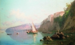 Alexey Petrovich Bogolyubov (16 March 1824 – 3 February 1896) Type of Sorrento Oil on canvas, 1856 43.9 x 71.9 cm Private Collection