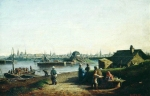 Alexey Petrovich Bogolyubov (16 March 1824 – 3 February 1896) View of the Kazan Oil on canvas, 1861 34.7 x 57 cm The State Russian Museum, St. Petersburg, Russia