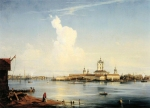 Alexey Petrovich Bogolyubov (16 March 1824 � 3 February 1896) View of the Smolny Convent from the Great Ohta Oil on canvas, 1851 118 x 168 cm The State Tretyakov Gallery, Moscow, Russia
