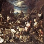 Jacopo Bassano (Jacopo da Ponte) (1510-1592)  Noah's Sacrifice  Oil on canvas, 1574  Private collection