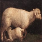 Jacopo Bassano (Jacopo da Ponte) (1510-1592)  Sheep and Lamb  Oil on canvas, 1560  Galleria Borghese, Rome