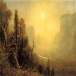 Albert Bierstadt (1830-1902)  Study for